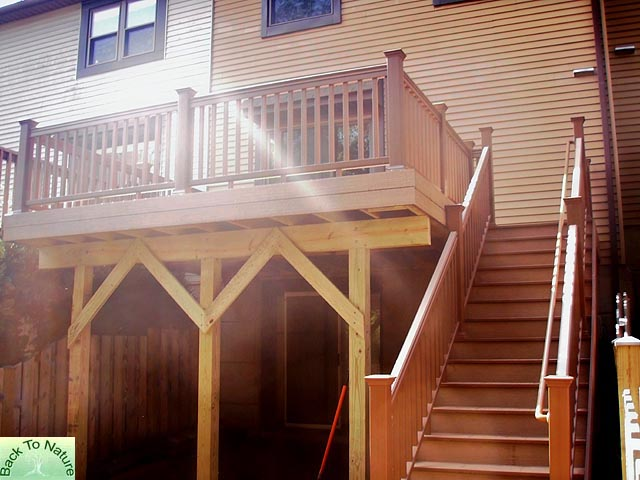 Townhouse Backyard Decks : Decks Blue Bell Ambler PA, Deck Builders Contractors Montgomery County