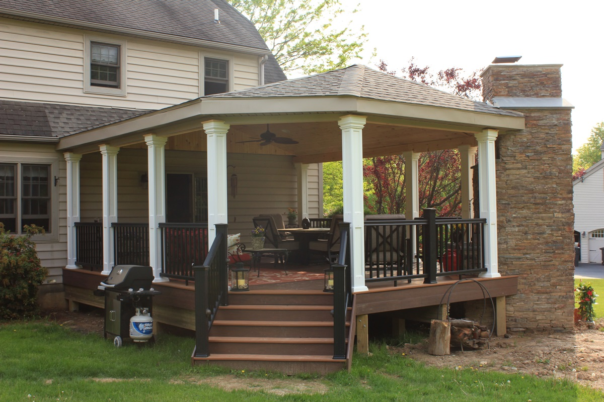 13 Simple Porch Gazebo Ideas Photo Building Plans Online