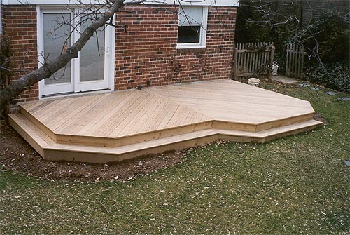 Ground level decks pa deck builders and patio contractors for Low price decking