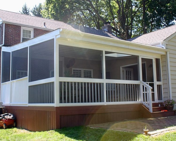 Enclosed porches images finest enclosed porches and for Sunroom blueprints free